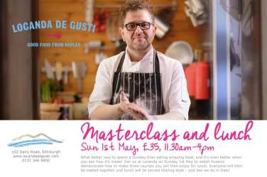locanda de gusti masterclass edinburgh event glasgow foodie
