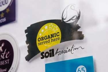 soil asociation organic served here