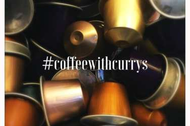 coffee with currys nespresso glasgow foodie explorers