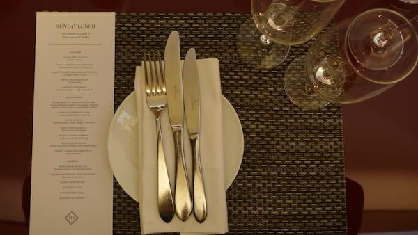 The_honours_Glasgow_Malmaison_menu
