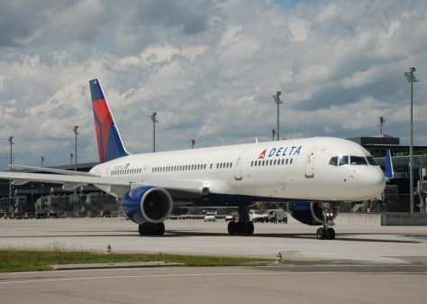 Delta airlines Edinburgh JFK