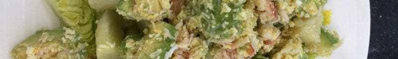 crab avocado salad