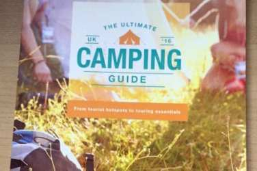 halfords camping guide booklet