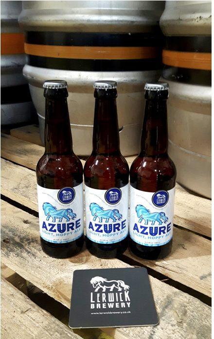 lerwick brewery azure beer scotland