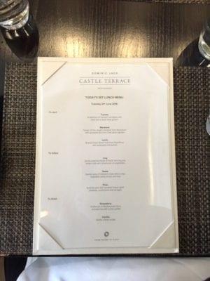 castle terrace edinburgh lunch menu