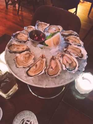 oyster happy hour the 158 cafe bar hutchesons glasgow