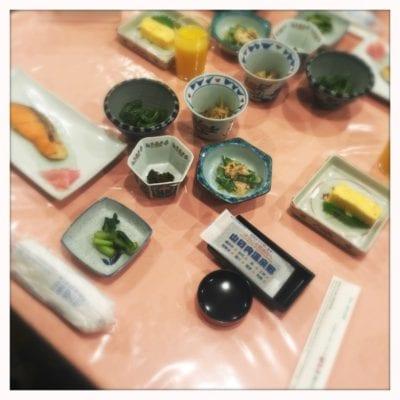 Breakfast Yudanaka Shimaya ryokan hotel Japan