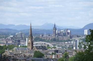 Glasgow city view