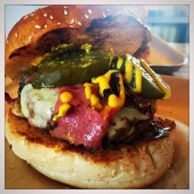 BrewDog burger el perro negro Glasgow