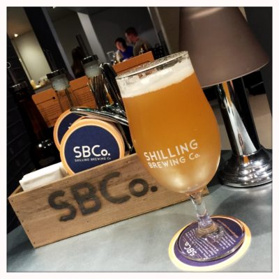 Shilling brewing co Glasgow beer
