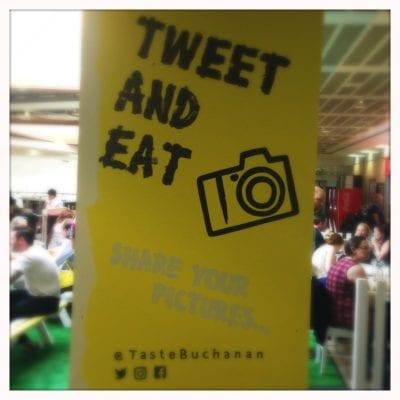 Taste Buchanan food at Buchanan galleries