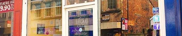 Soy division vegan cafe Shawlands Glasgow