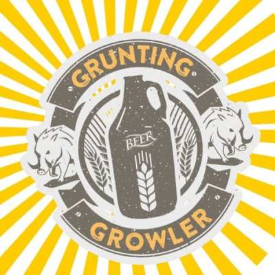 GRUNting Growler Glasgow beer