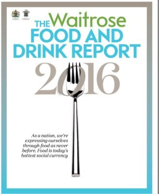 Waitrose food and drink report