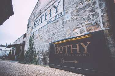 The bothy glasgow Christmas foodiemas