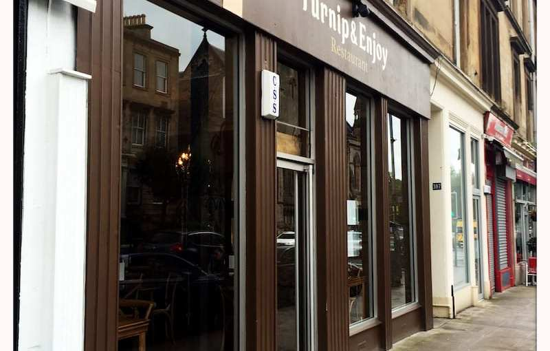 Food review: Turnip & Enjoy, Gt Western Road, Glasgow *CLOSED*