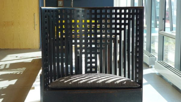 Mackintosh GSA tour - Willow Tea Rooms chair