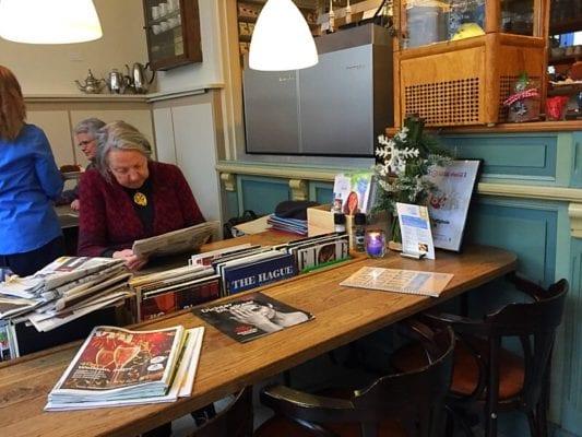 Stads koffyhuis Delft Holland coffee shop cafe
