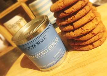 Smoky Brae smoked brown sugar cookies