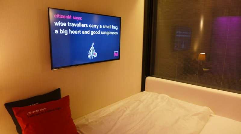 CitizenM Glasgow - good advice