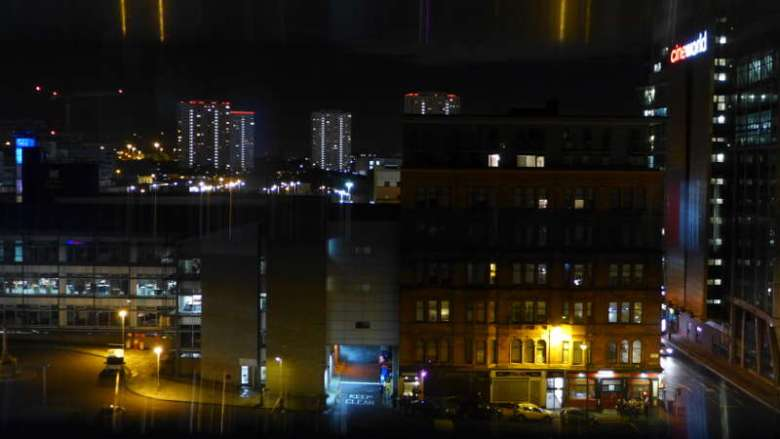 CitizenM Glasgow - view from window