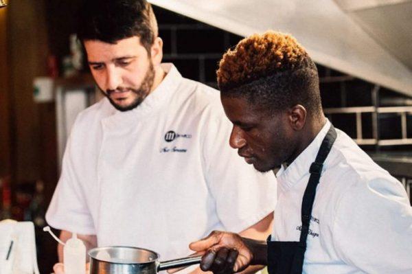 Nico Simeone and Head Chef Modou hard at work (Photo: 111 By Nico/Instagram)