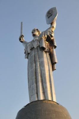 Motherland statue Kiev Ukraine