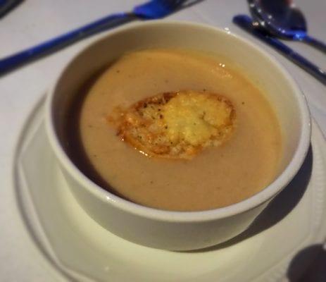 Cauliflower soup nick Nairn Hilton DoubleTree dunblane hydro