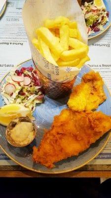 Cod Salt and vinegar Shawlands Glasgow