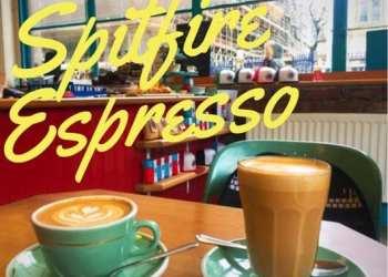 Spitfire coffee merchant city Glasgow