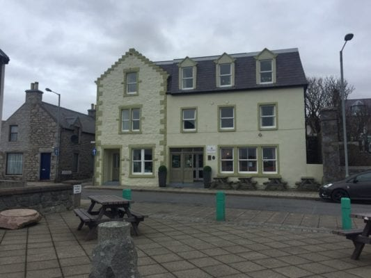 Scalloway hotel Scotland Scottish staycation holiday