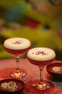 French martini bar soba