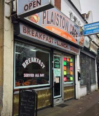 Plaistow cafe London