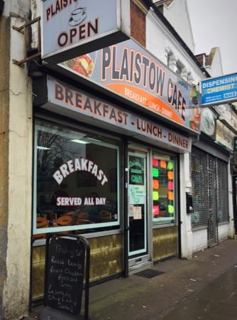 Food review: Plaistow Cafe, 163 Plaistow Road, Plaistow, London