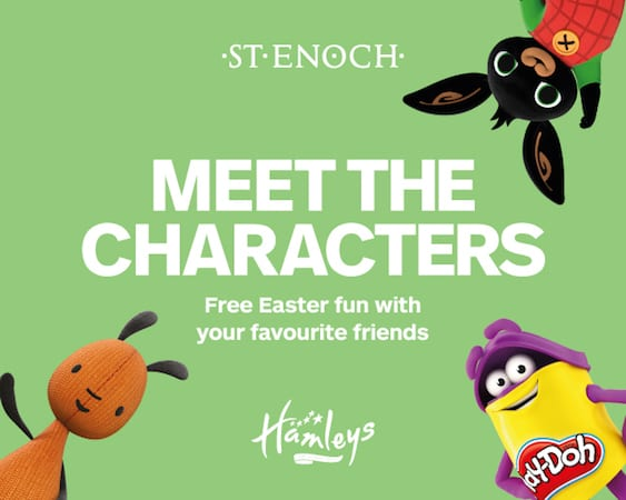 Easter Fun at St Enoch Centre in Glasgow