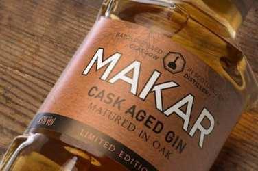 Makar Oaked gin glasgow foodie explorers glasgo