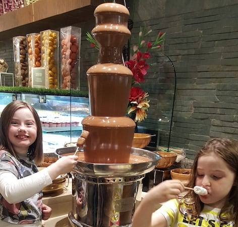 Cosmo Silverburn Choc Fountain