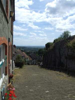 Gold Hill, Shaftesbury. One of Britain's prettiest streets