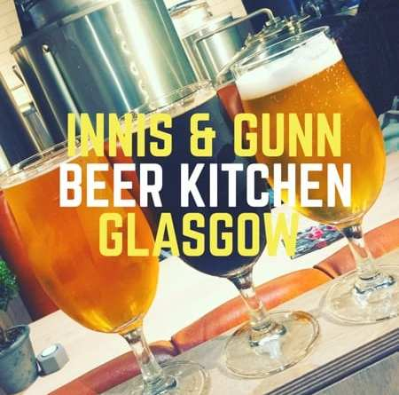 Innis and gunn beer kitchen Ashton lane glasgow Foodie glasgow food blog