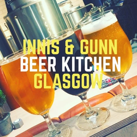 Innis & Gunn Beer Kitchen launch