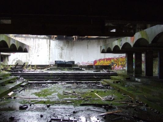 Kilmahew gin St. Peter's Seminary Cardross scotland