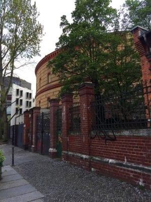 Glasgow food travel blog Berlin bunker
