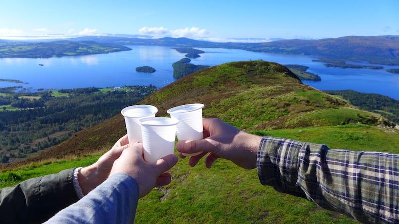 Loch Lomond scotlands wild