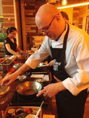 Thaikhun SIlverburn Cookery Class Mr C