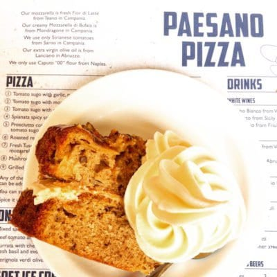 paesano pizza glasgow food blog foodie explorers dessert