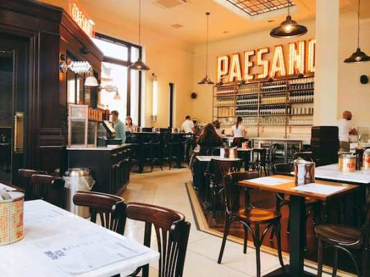 paesano pizza glasgow food blog foodie explorers inside