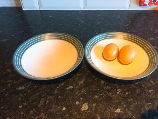 Glasgow food blog Cloud Egg Recipe Instructions Step 1