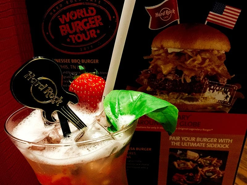 Hard Rock Cafe - Strawberry Basil Lemonade