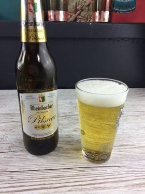 Glasgow food blog aldi pilsner beer review