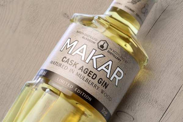 Glasgow distillery company makar gin